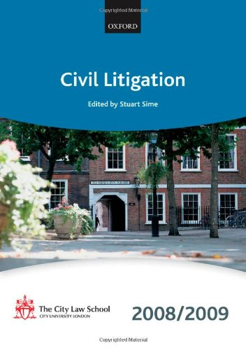 Civil Litigation By The City Law School