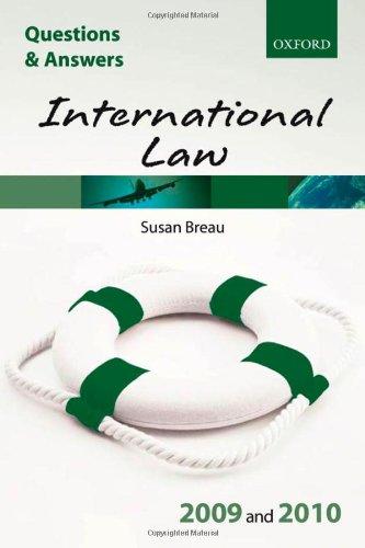 International Law: 2009-2010 by Susan Breau