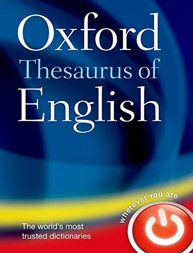 Oxford Thesaurus of English By Oxford Languages