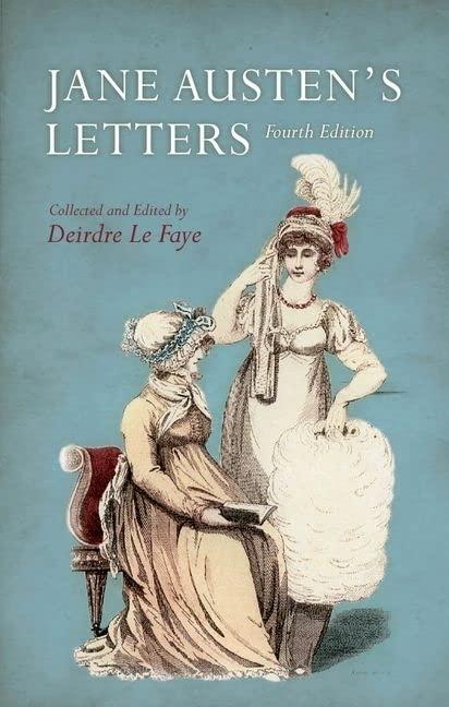 Jane Austen's Letters By Edited by Deirdre Le Faye