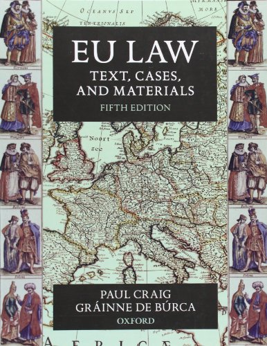 EU Law By Professor Paul Craig