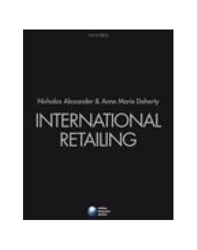 International Retailing By Anne Marie Doherty