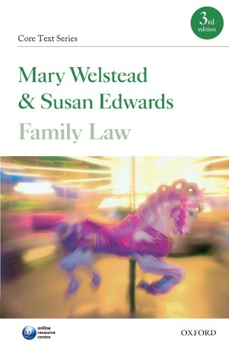 Family Law By Mary Welstead