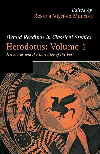 Herodotus: Volume 1 By Rosaria Vignolo Munson (Professor of Classics, Swarthmore College)