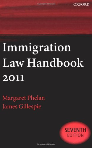 Immigration Law Handbook By Margaret Phelan