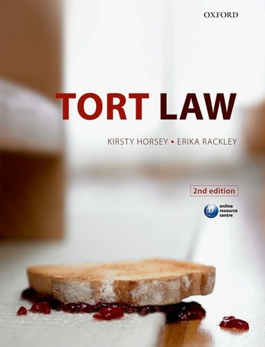 Tort Law by Kirsty Horsey