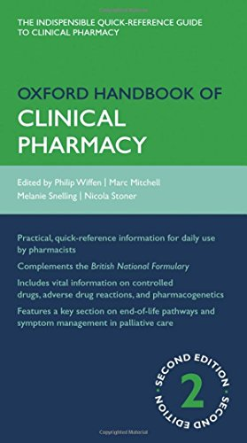 Oxford Handbook of Clinical Pharmacy By Philip Wiffen