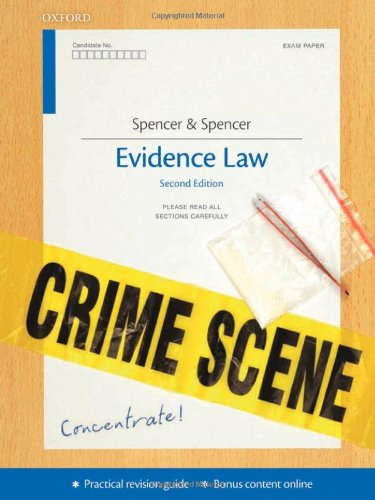 Evidence Concentrate By Maureen Spencer