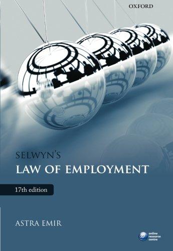 Selwyn's Law of Employment by Astra Emir