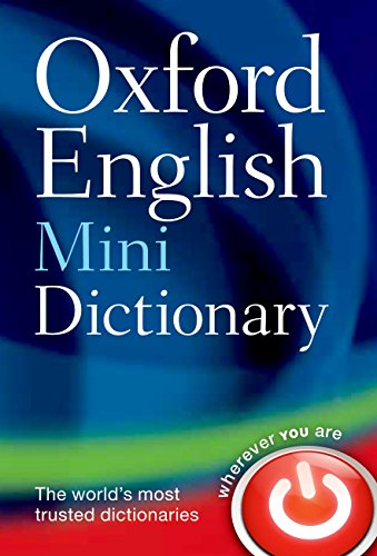 Oxford English Mini Dictionary By Oxford Languages