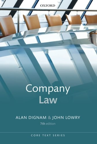 Company Law (Core Text) (Core Texts Series) By Alan Dignam