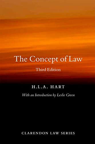 The Concept of Law (Clarendon Law) (Clarendon Law Series) By H. L. A. Hart