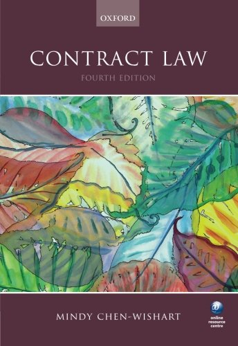 Contract Law by Mindy Chen-Wishart
