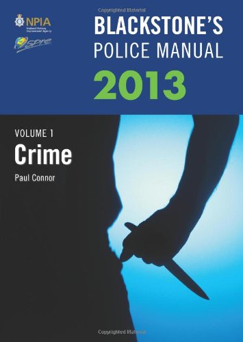 Blackstone's Police Manual By Paul Connor