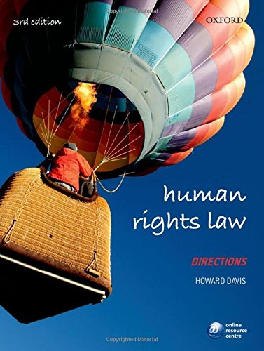 Human Rights Law Directions By Howard Davis