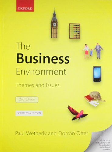 THE BUSINESS ENVIRONMENT,2E 2nd Edition By WETHERLY