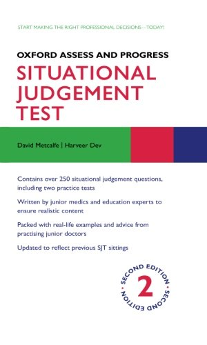 Oxford Assess and Progress: Situational Judgement Test by David Metcalfe