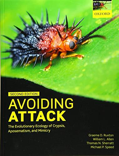 Avoiding Attack By Graeme D. Ruxton (Professor, Professor, University of St Andrews, UK)