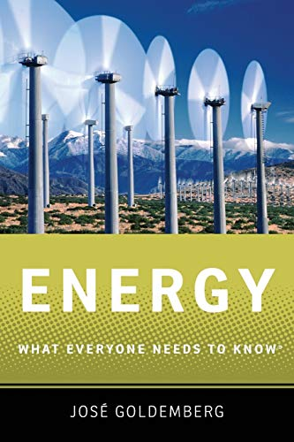 Energy By Jose Goldemberg (Professor, Professor, Graduate Program in Energy, University of Sao Paulo)