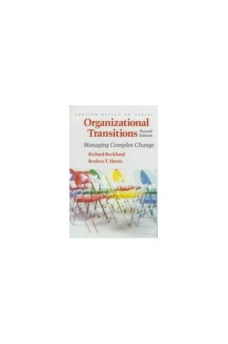Organizational Transitions By Richard Beckhard