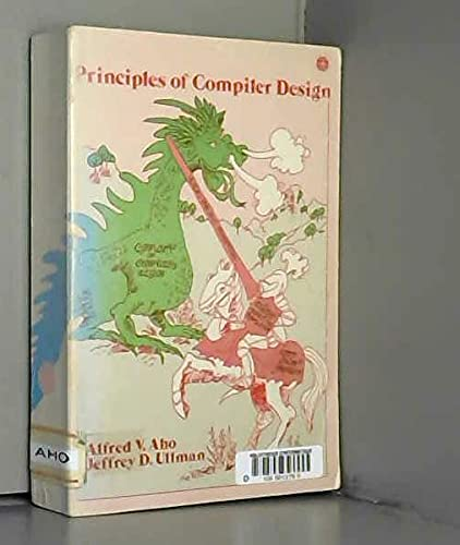 Principles of Compiler Design By Alfred V. Aho