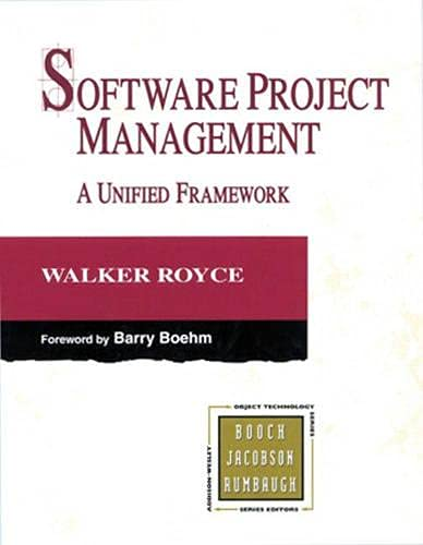 Software Project Management By Walker Royce