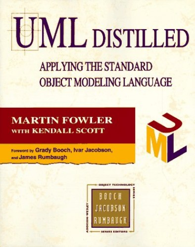 UML Distilled: Applying the Standard Object Modelling Language by Martin Fowler