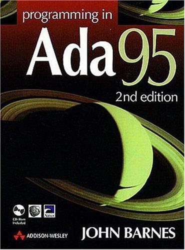 Programming in Ada 95 By John Barnes