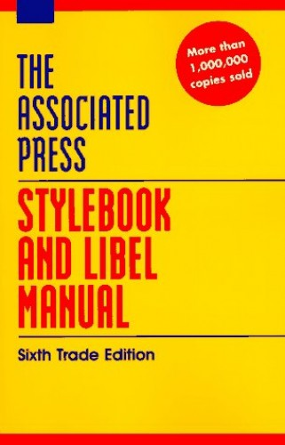 Stylebook Revised By Associated Press