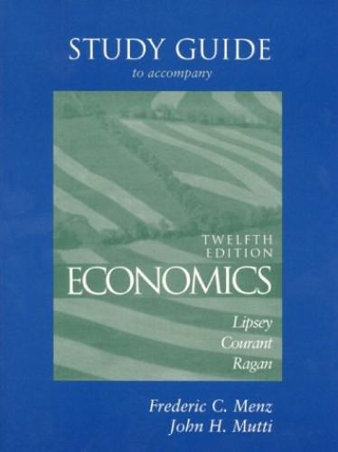 Study Guide (Economics) By Richard G. Lipsey