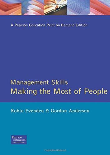 Management Skills By Robin Evenden