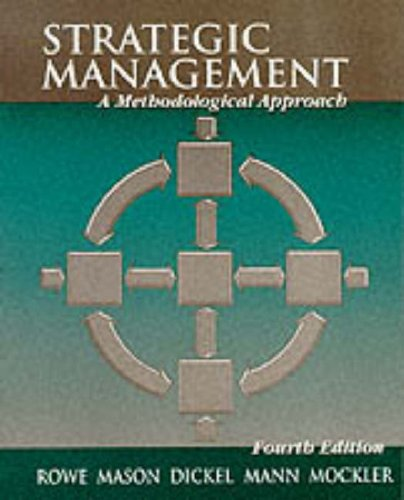 Strategic Management By Alan J. Rowe