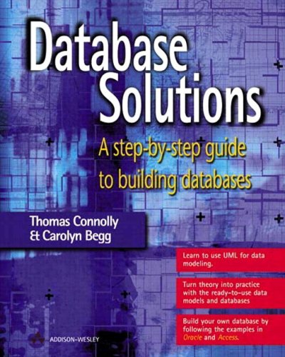Database Solutions By Thomas Connolly