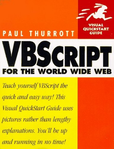 VBSCRIPT WORLD WIDE WEB By Paul Thurrott