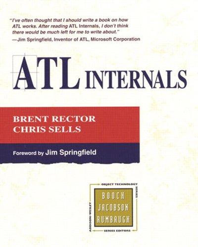 ATL Internals By Brent E. Rector