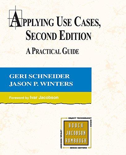 Applying Use Cases By Geri Schneider