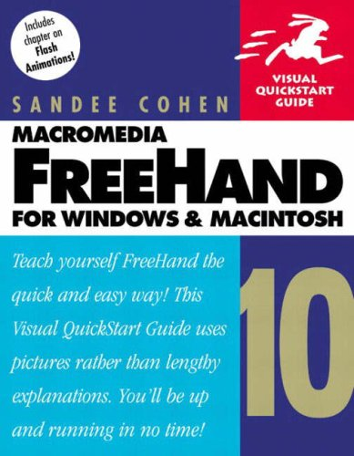 Macromedia FreeHand 10 for Windows and Macintosh By Sandee Cohen
