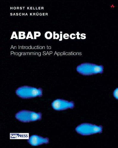 ABAP Objects By Horst Keller