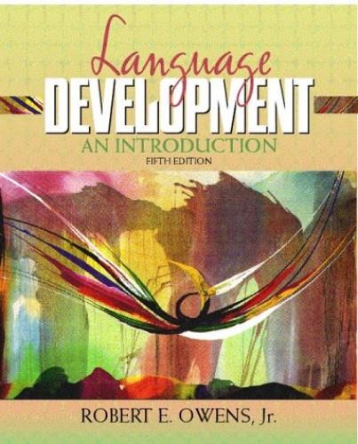 Language Development By Owens