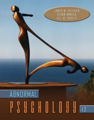 Abnormal Psychology By James N. Butcher