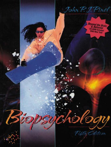 Biopsychology With Quot Beyond The Brain And Behavior Quot Cd Rom