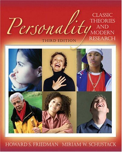 Personality By Howard S. Friedman