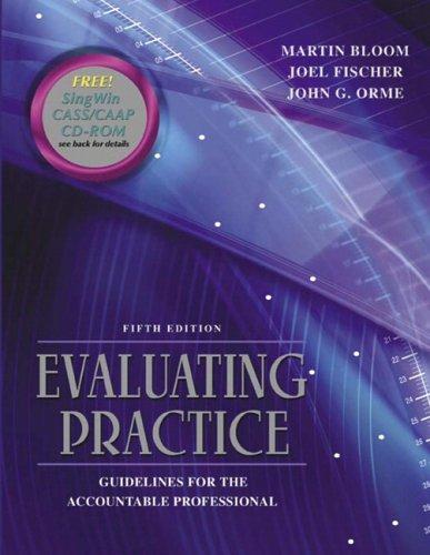 Evaluating Practice By Joel Fischer
