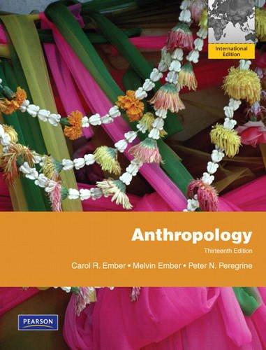Anthropology By Carol R. Ember