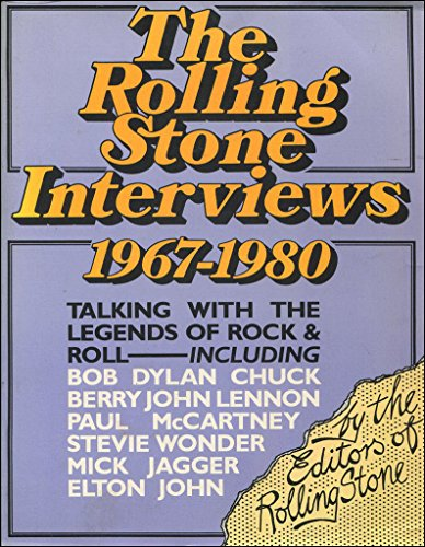 """""""Rolling Stone"""" Interviews By Introduction by Ben Fong-Torres"""