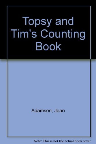 Topsy and Tim's Counting Book By Jean Adamson