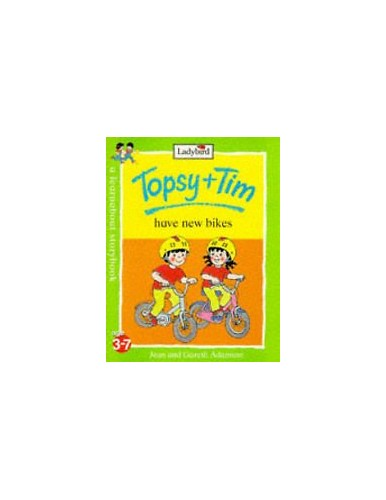 Topsy + Tim Ride Their Bikes By Gareth Adamson