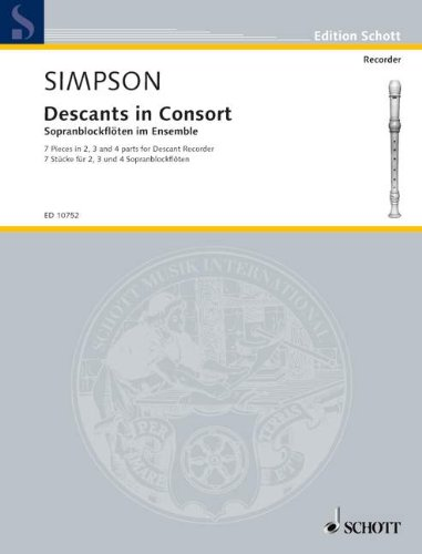 Descants in Consort By Kenneth Simpson