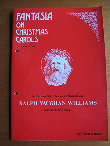 Vaughan Williams Fantasia on Christmas Carols Vocal Score