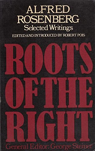 Selected Writings By Alfred Rosenberg